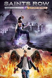 Carátula del juego Saints Row IV: Re-Elected & Gat out of Hell de Xbox One
