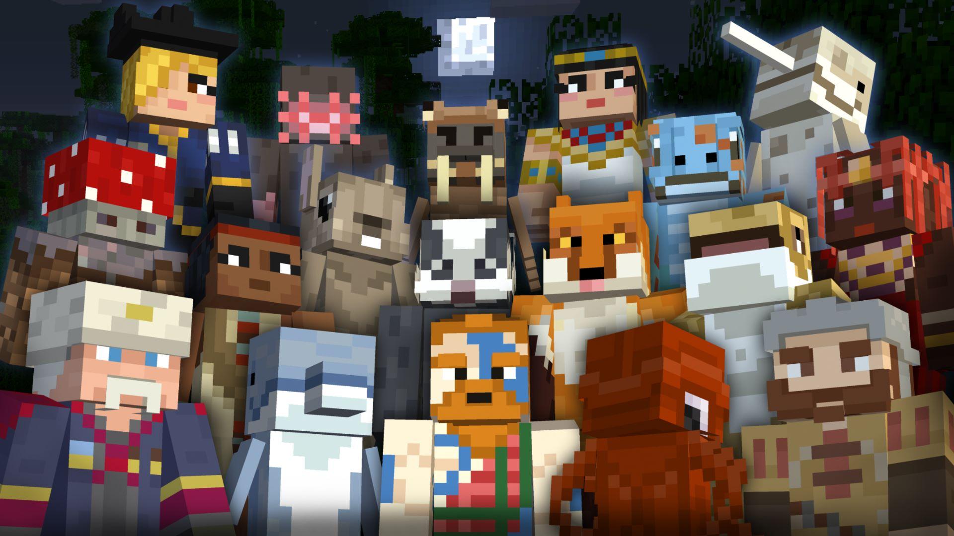 Buy Minecraft Battle Beasts Skin Pack Microsoft Store - Skin para minecraft pc 1 5 2