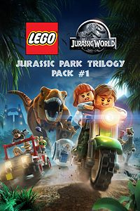 Carátula del juego LEGO Jurassic Park Trilogy Pack #1