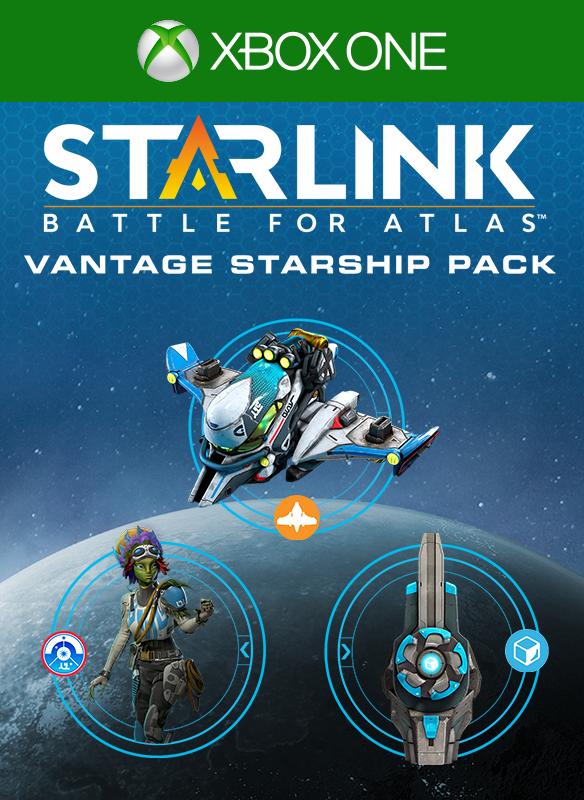 Starlink: Battle for Atlas Digital Vantage Starship Pack