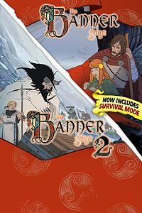 Carátula del juego Banner Saga Complete Pack with Survival Mode
