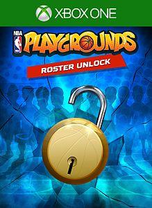NBA Playgrounds - Roster Unlock boxshot
