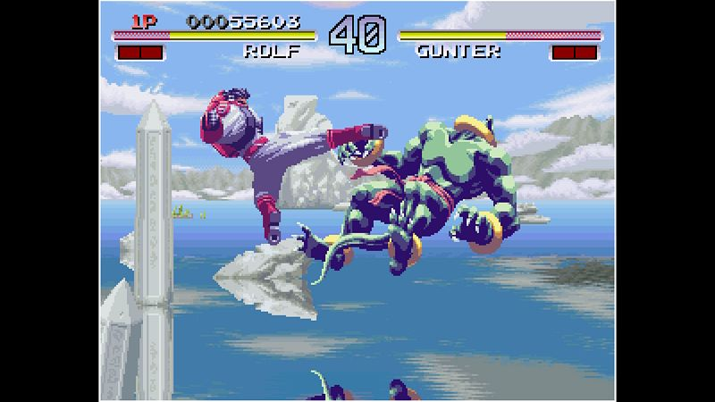 ACA NEOGEO GALAXY FIGHT: UNIVERSAL WARRIORS Screenshot