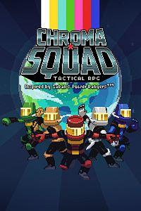 Carátula para el juego Chroma Squad de Xbox 360
