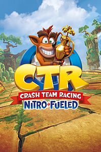 Carátula del juego Crash Team Racing Nitro-Fueled