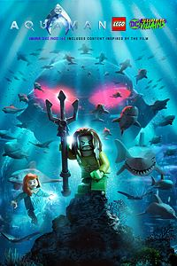 Carátula del juego LEGO DC Super-Villains Aquaman Bundle Pack