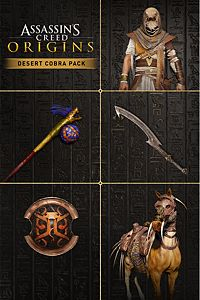 Carátula del juego Assassin's Creed Origins - Desert Cobra Pack