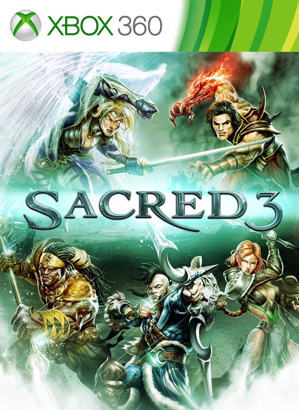 Sacred 3 boxshot