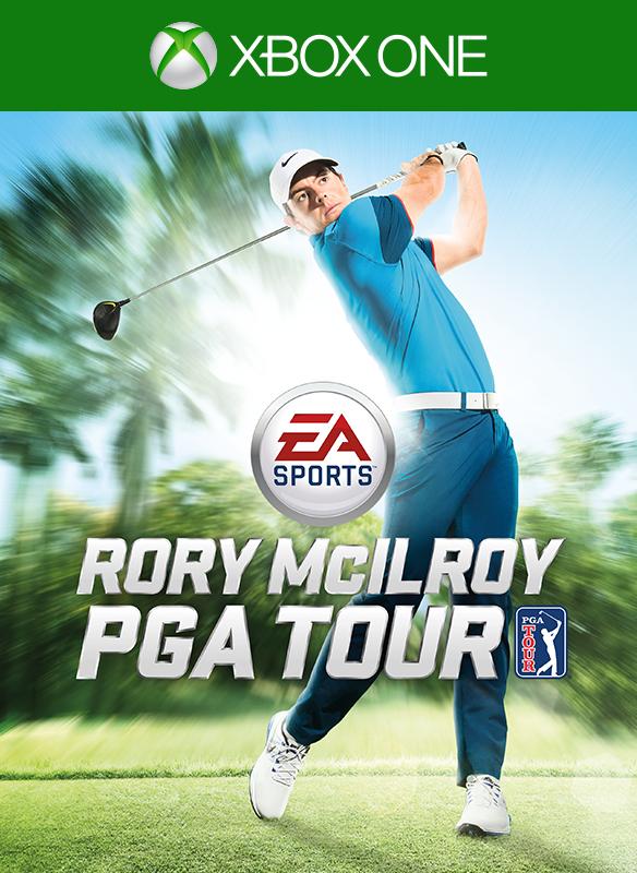 EA Sports Rory McIlroy PGA Tour boxshot