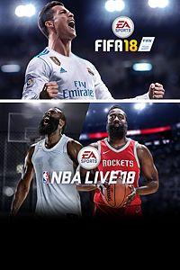 Pacote EA SPORTS™ FIFA 18 e NBA LIVE 18: The One Edition