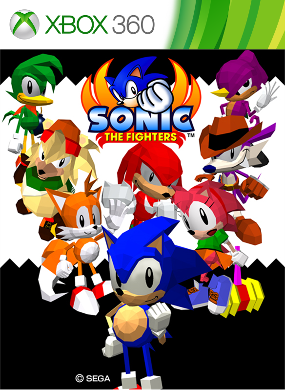 Sonic the Fighters boxshot