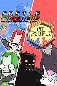 Carátula para el juego Castle Crashers & Pit People Bundle de Xbox One