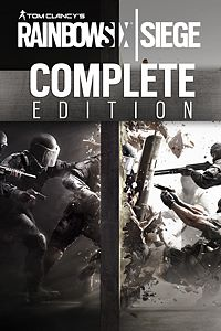 Carátula del juego Tom Clancy's Rainbow Six Siege Complete Edition