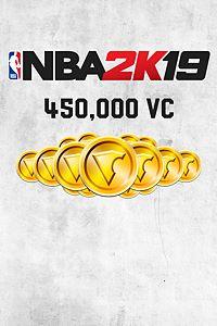 NBA 2K19 450,000 VC Pack