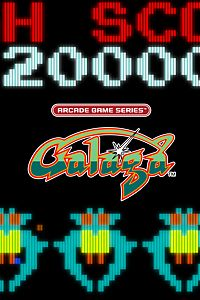 Carátula para el juego ARCADE GAME SERIES: GALAGA de Xbox 360