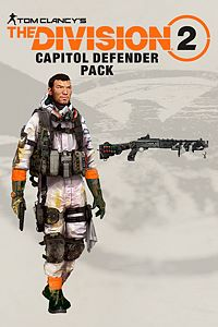 Carátula del juego Tom Clancy's The Division 2 - The Capitol Defender Pack
