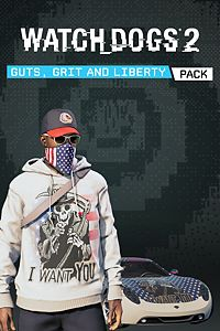 Carátula del juego Watch Dogs2 - Guts, Grits and Liberty Pack