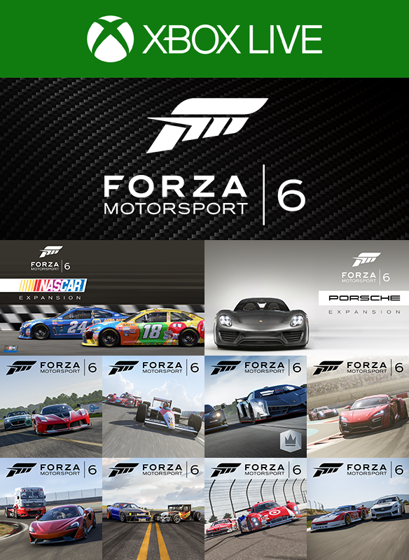 Complete Forza Motorsport 6 Add-Ons Collection boxshot