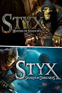 Carátula del juego Styx: Master of Shadows + Styx: Shards of Darkness de Xbox One