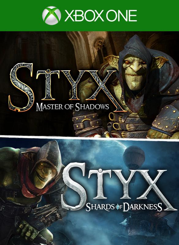 Styx: Master of Shadows + Styx: Shards of Darkness boxshot