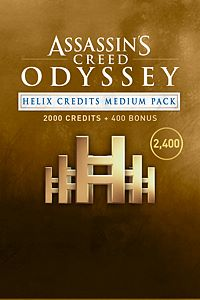 Carátula del juego Assassin's Creed Odyssey - Helix Credits medium Pack