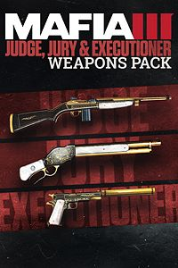Carátula del juego Mafia III – Pack de armas Juez, jurado y ejecutor