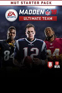 Carátula del juego MADDEN NFL 18 ULTIMATE TEAM STARTER PACK para Xbox One