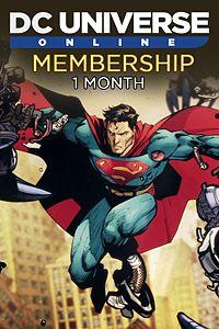 Carátula del juego DC Universe Online 1-Month Membership