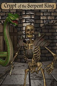 Carátula del juego Crypt of the Serpent King
