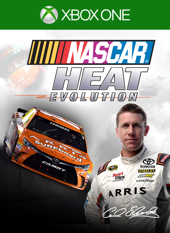 NASCAR Heat Evolution boxshot