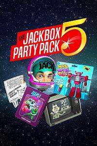 Carátula para el juego The Jackbox Party Pack 5 de Xbox 360