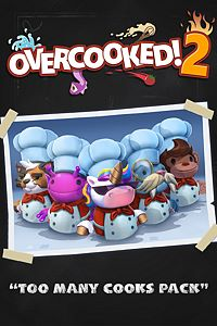 Carátula del juego Overcooked! 2 - Too Many Cooks Pack