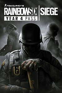 Carátula del juego Tom Clancy's Rainbow Six Siege - Year 4 Pass