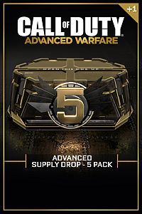 Carátula del juego Advanced Supply Drop Bundle - 5 Pack de Xbox One