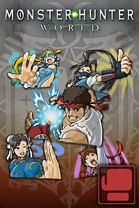 Carátula del juego Sticker Set: Street Fighter V Set