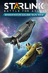 Carátula para el juego Starlink: Battle for Atlas - Shockwave & Gauss Gun Mk.2 Weapon Pack de Xbox 360