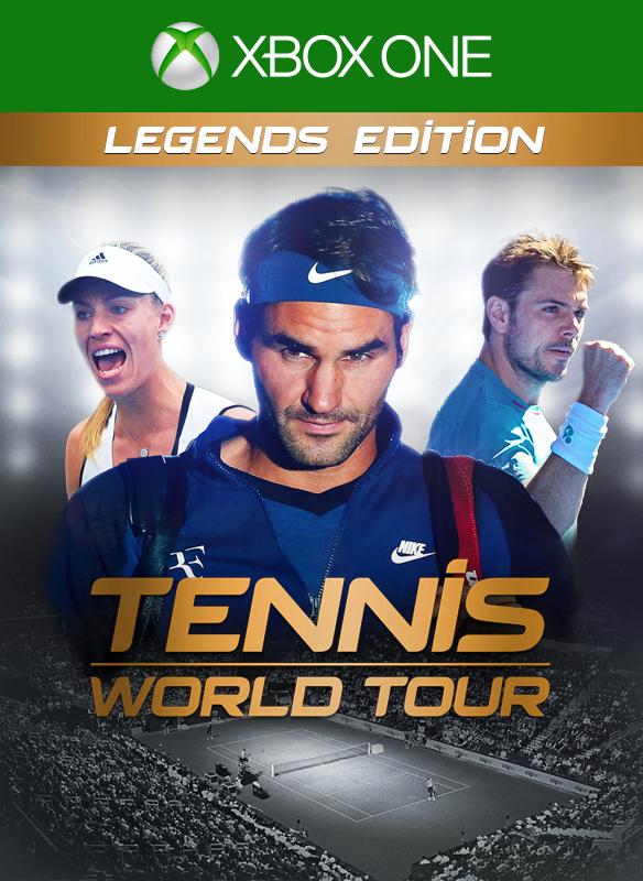 Tennis World Tour Legends Edition boxshot