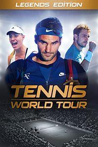 Carátula para el juego Tennis World Tour Legends Edition de Xbox One