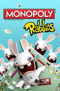 Carátula para el juego MONOPOLY RABBIDS DLC de Xbox 360