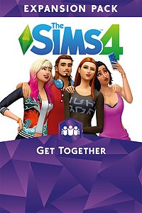 Carátula del juego The Sims 4 Get Together
