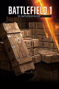 Carátula del juego Battlefield 1 Battlepacks x 20