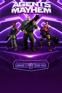 Carátula del juego Agents of Mayhem - Carnage a Trois Skins Pack