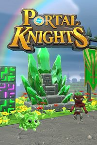 Carátula del juego Portal Knights - Emerald Throne Pack
