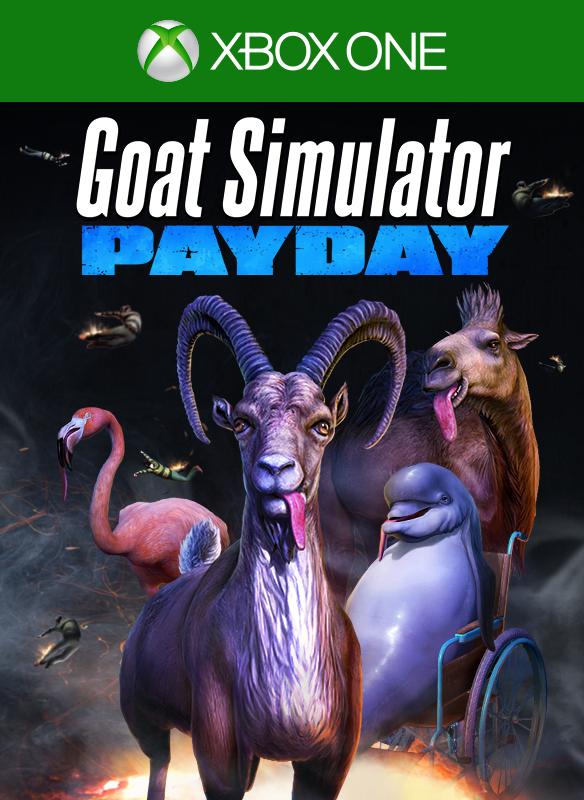 Goat Simulator Payday boxshot