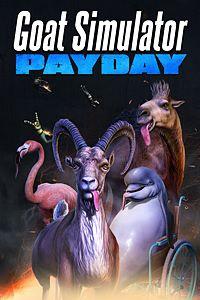 Carátula para el juego Goat Simulator: PAYDAY de Xbox 360