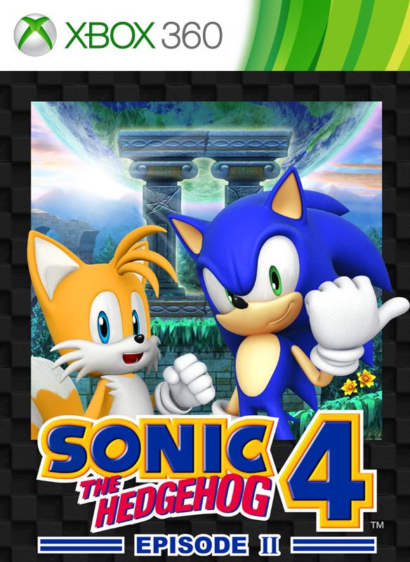 SONIC 4 Episode 2 boxshot