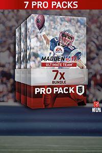 Carátula del juego Madden NFL 17 7 Pro Pack Bundle de Xbox One