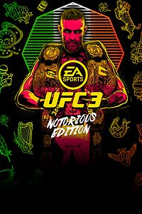 Carátula del juego EA SPORTS UFC 3 Notorious Edition