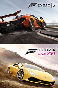 Carátula del juego Forza Horizon 2 and Forza Motorsport 5 Bundle de Xbox One