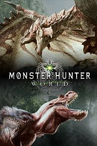 Carátula para el juego MONSTER HUNTER: WORLD Digital Deluxe Edition de Xbox 360